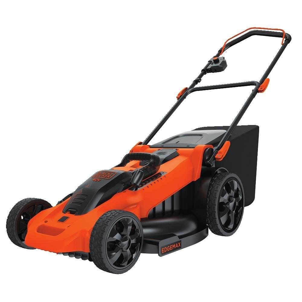 BLACK+DECKER CM2040 Lithium 3-in-1 Cordless Mower, 20-Inch, 40-volt
