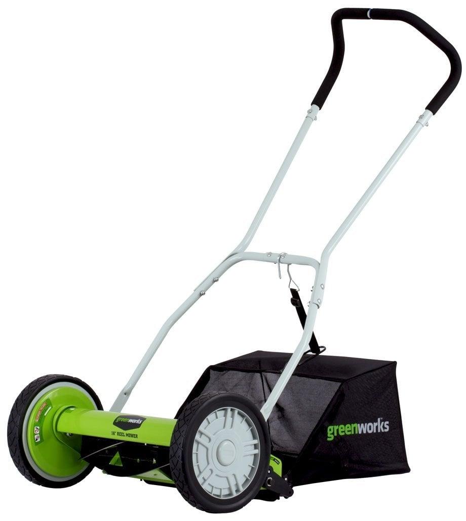 GreenWorks 25052 16-Inch Reel Lawn Mower
