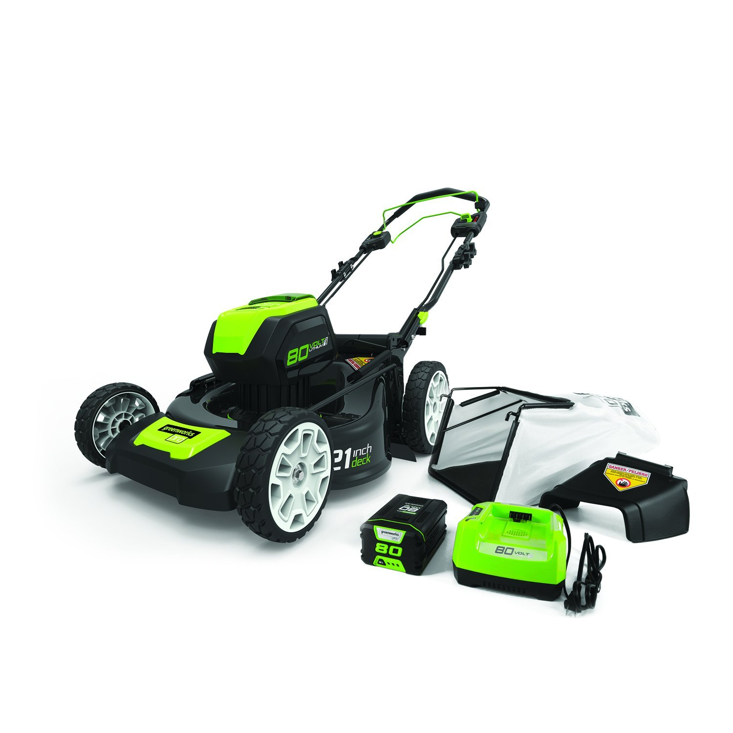 GreenWorks Pro 80V 21-Inch Self-Propelled Cordless Lawn Mower