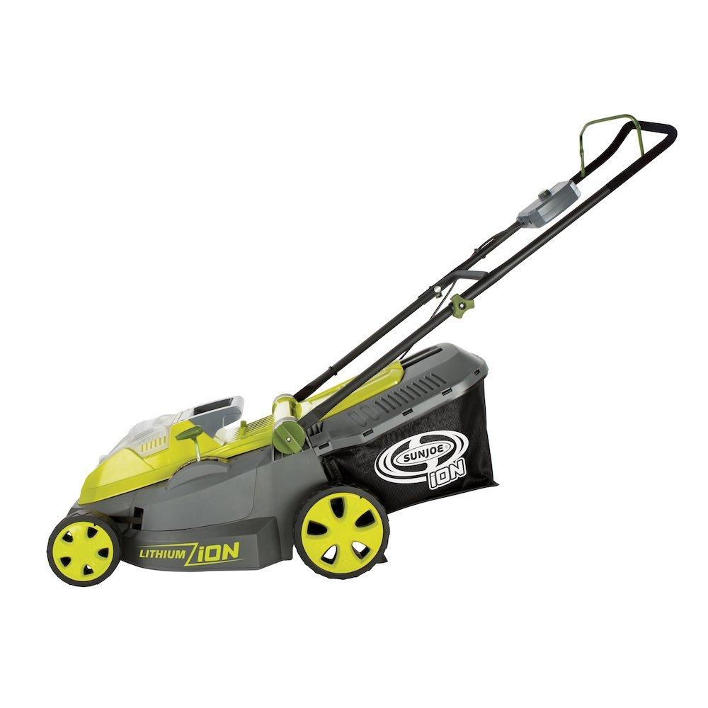 Sun Joe iON16LM 16-Inch Cordless Lawn Mower