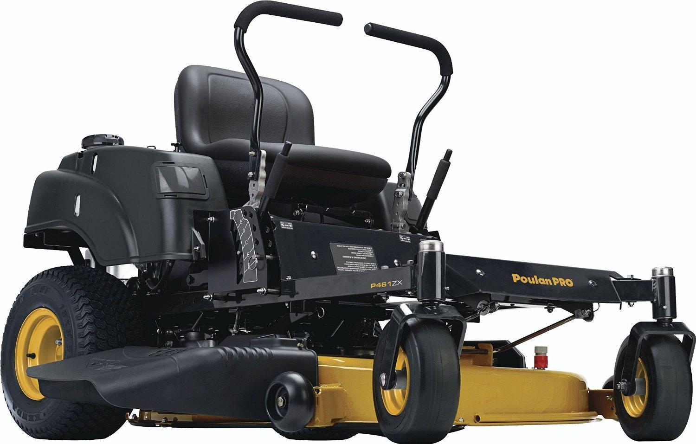 Poulan Pro 967330901 P46ZX Briggs V-Twin Pro 22 HP Cutting Deck Zero Turn Radius Riding Mower