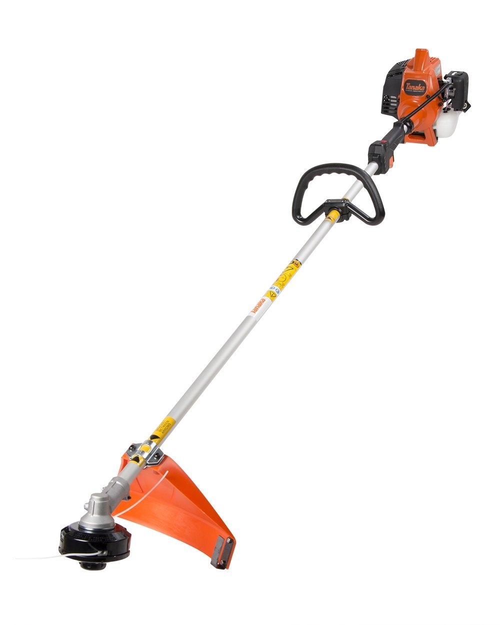 Tanaka TCG22EAP2SL 2-Cycle Gas Powered Solid Steel Drive Shaft String Trimmer/Brush Cutter