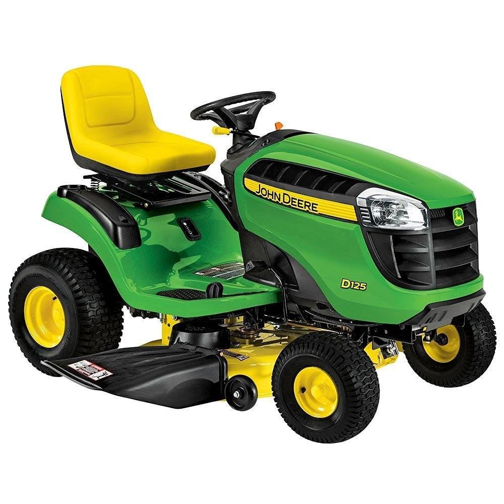 John Deere Lawn Tractor Engines : John deere lawn mower tractor d review loyalgardener