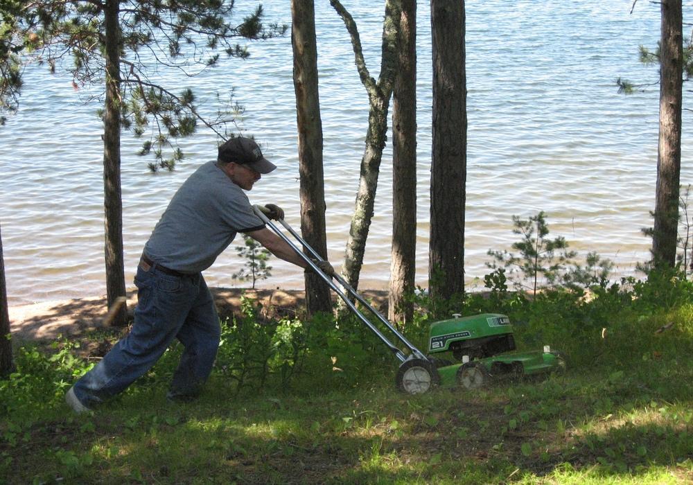 best mower for hills