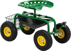 Best Choice Products Garden Cart Rolling