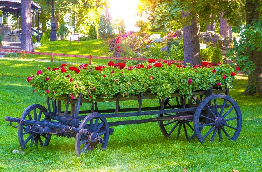 Skeletal Garden Wagon