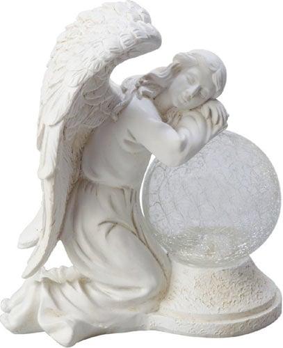 Moonrays 92367 Serene Angel Garden Statue