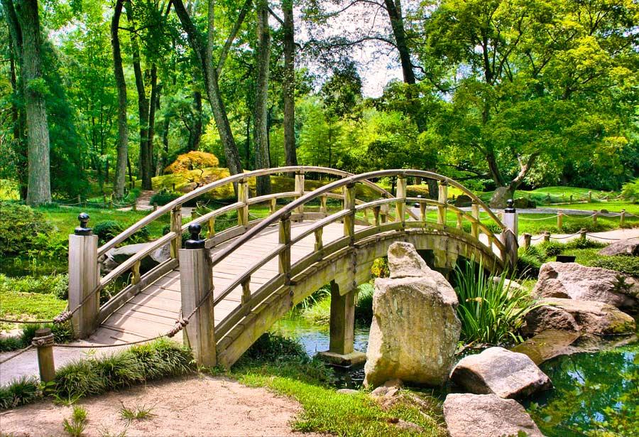 howto build a japanese garden bridge
