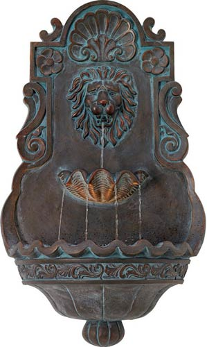 John Timberland Tivoli Bronze Wall Fountain