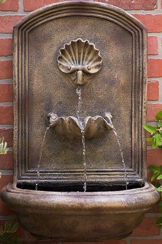 Harmony Fountains Napoli Outdoor Wall Fountain