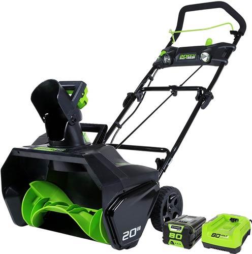Greenworks PRO 2600402 Cordless Snow Blower