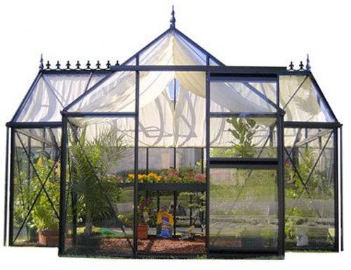 Junior Orangerie Glass Greenhouse