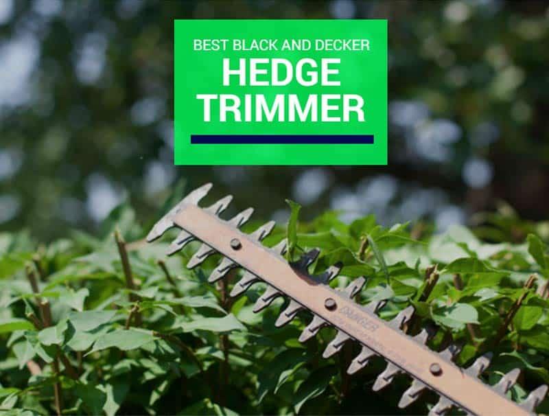 Best Black And Decker Hedge Trimmer