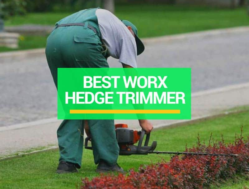 best worx hedge trimmer reviews