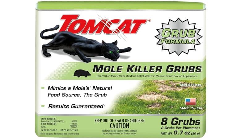 Tomcat Mole Killer Grubs