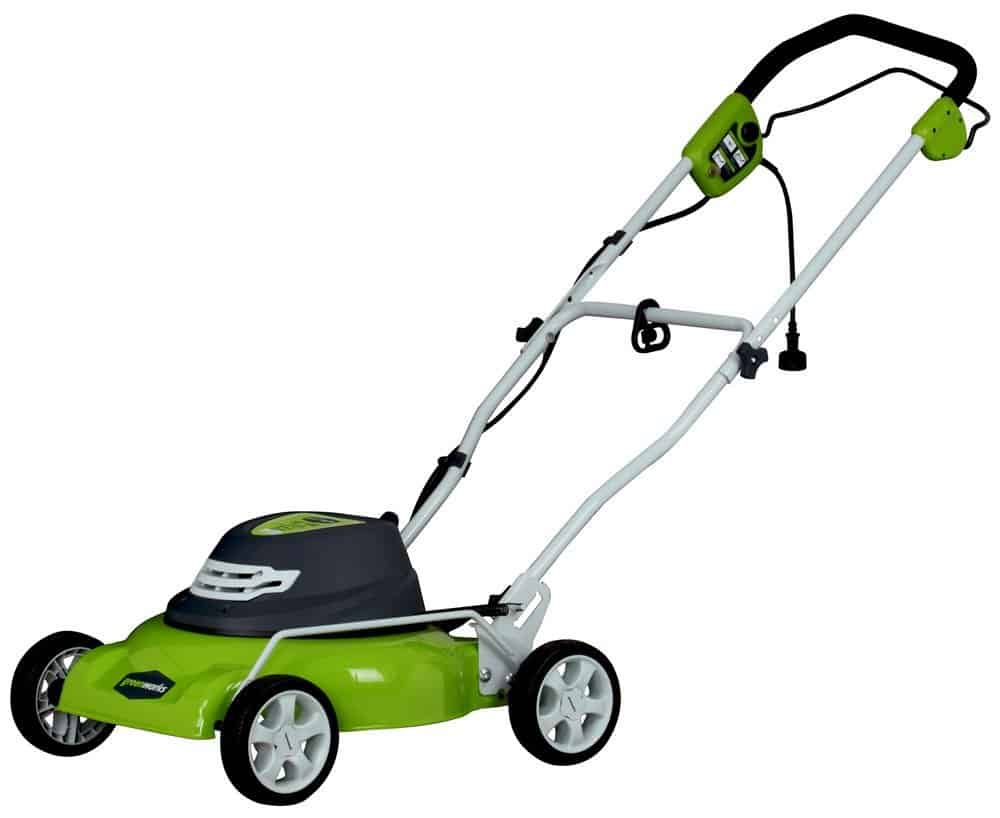 GreenWorks 25012 Corded 18 Inch Mower