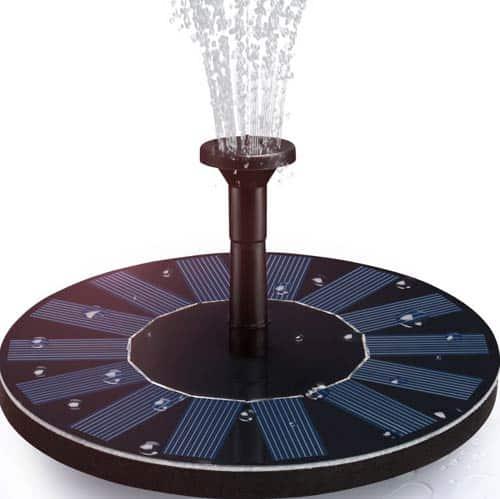 Hiluckey Solar Fountain Pum
