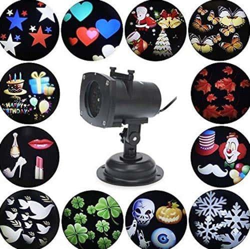 Projector Lights 12 Pattern